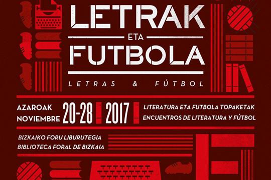 Festival Letras y Fútbol 2017 organizado por la Fundación Athletic